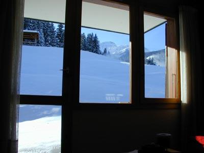 """""""Par la fenêtre"""" en hiver"""